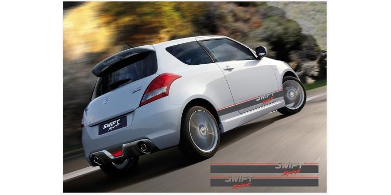 Decal to fit Suzuki Swift Sport side decal  2 Pcs. set 1850mm