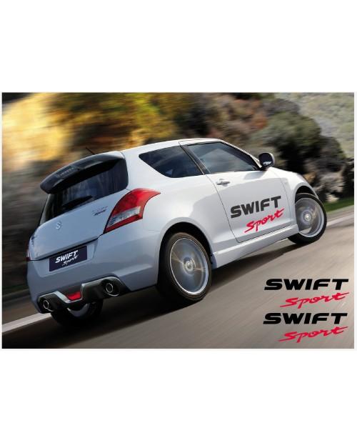 Aufkleber passend für Suzuki Swift Sport Seitenaufkleber Aufkleber Satz 100cm 2Stk.