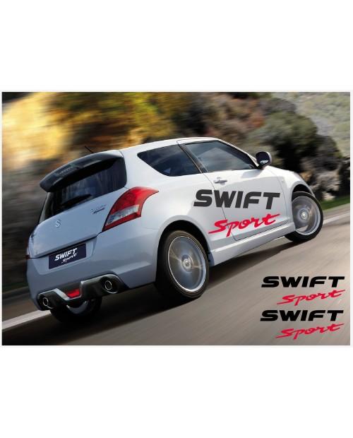 Aufkleber passend für Suzuki Swift Sport Seitenaufkleber Aufkleber Satz 150cm 2Stk.