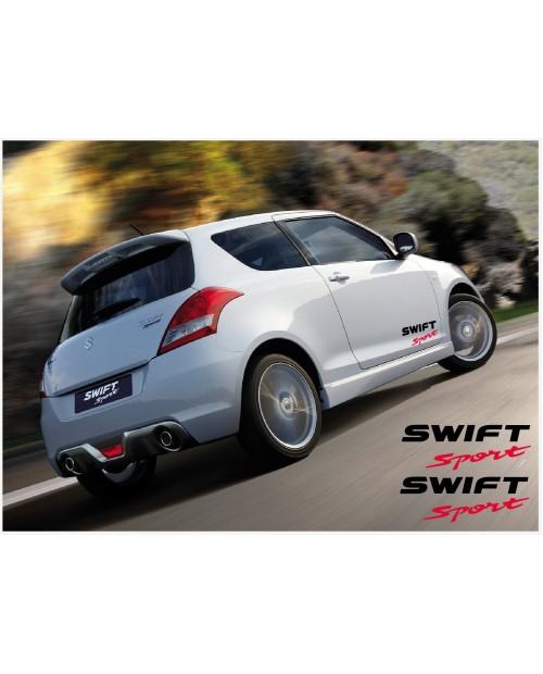 Aufkleber passend für Suzuki Swift Sport Seitenaufkleber Aufkleber Satz 30cm 2Stk.