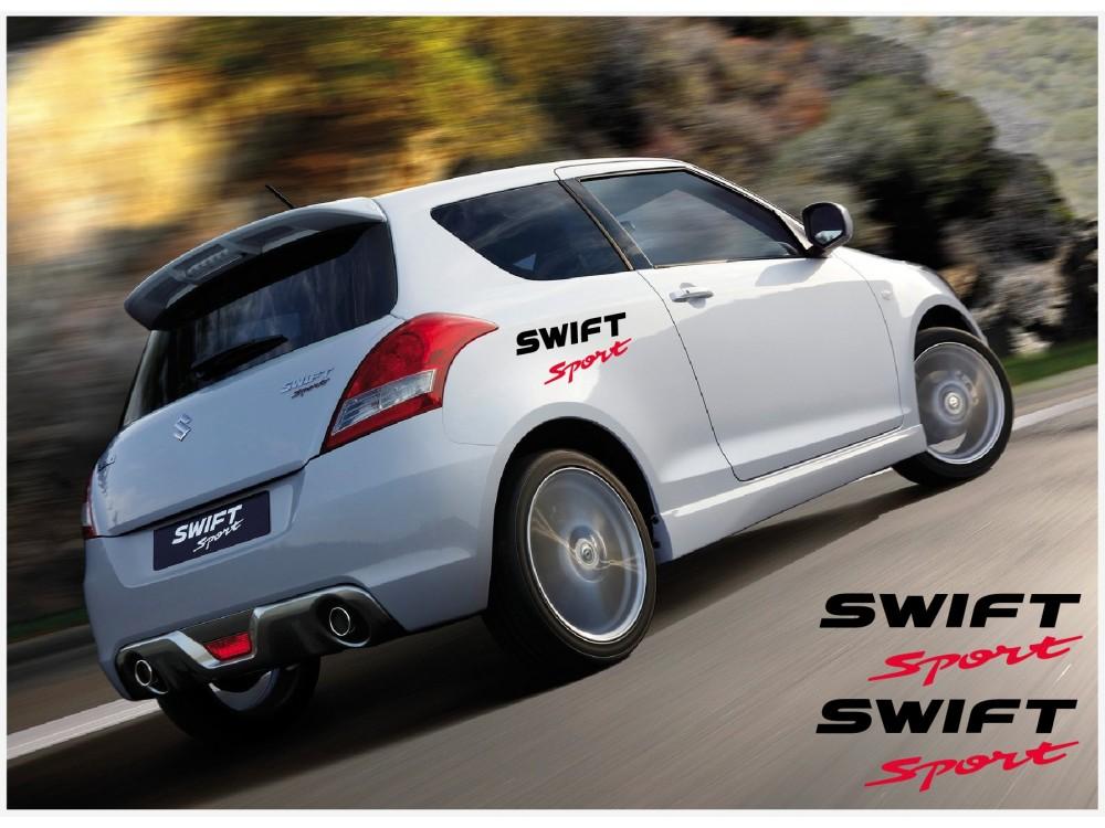Decal To Fit Suzuki Swift Sport Side Decal Set 30cm 2pcs
