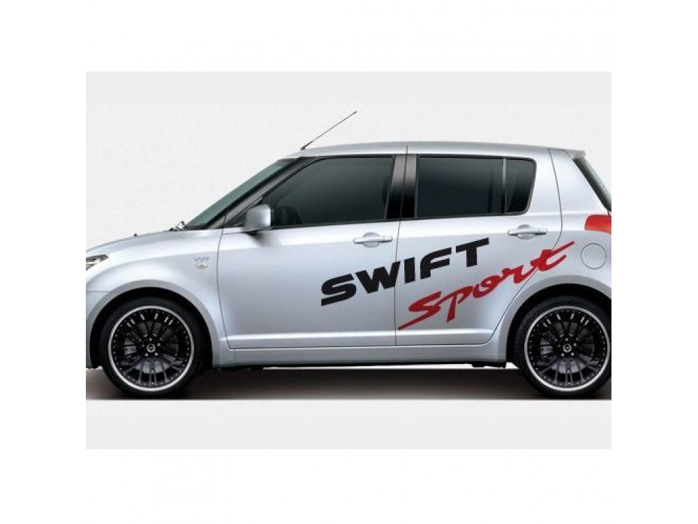 Decal To Fit Suzuki Swift Sport Side Decal Set Suz0006