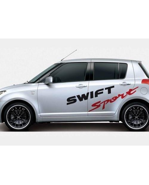 Aufkleber passend für Suzuki Swift Sport Seitenaufkleber Aufkleber Satz