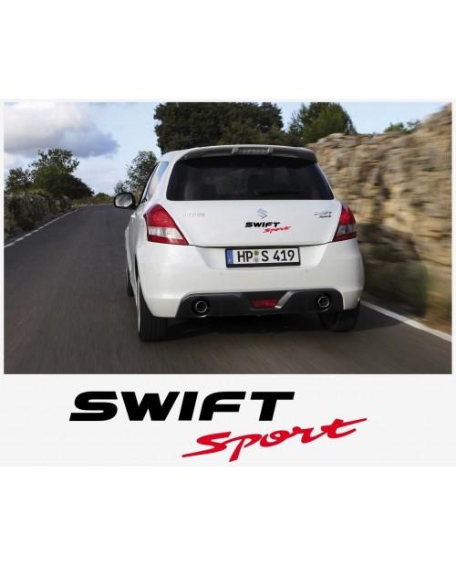 Aufkleber passend für Suzuki Swift Sport Heckaufkleber Aufkleber Satz 30cm