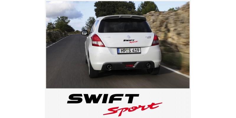 Decal to fit Suzuki Swift Sport tail decal set 30cm