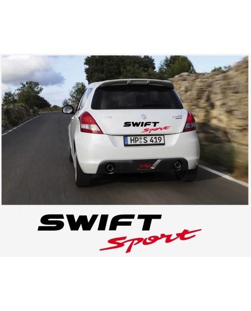 Aufkleber passend für Suzuki Swift Sport Heckaufkleber Aufkleber Satz 60cm