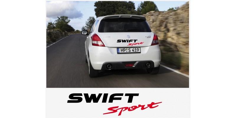 Decal to fit Suzuki Swift Sport tail decal set 60cm