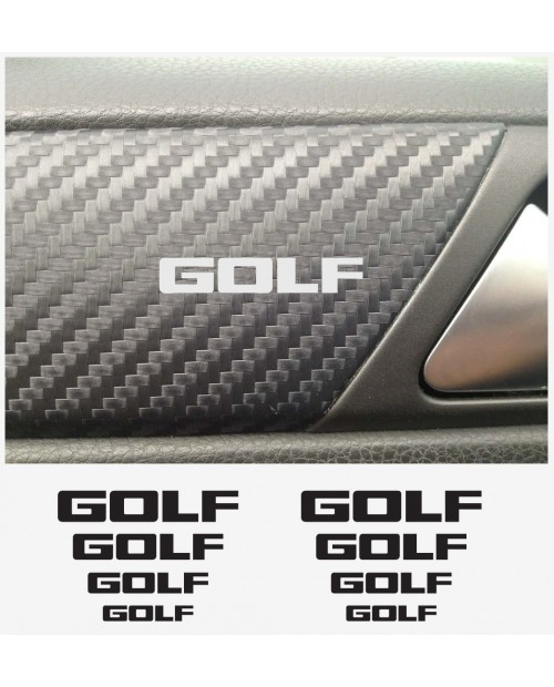 Aufkleber passend für VW Golf Armaturaufkleber 8Stk. Satz