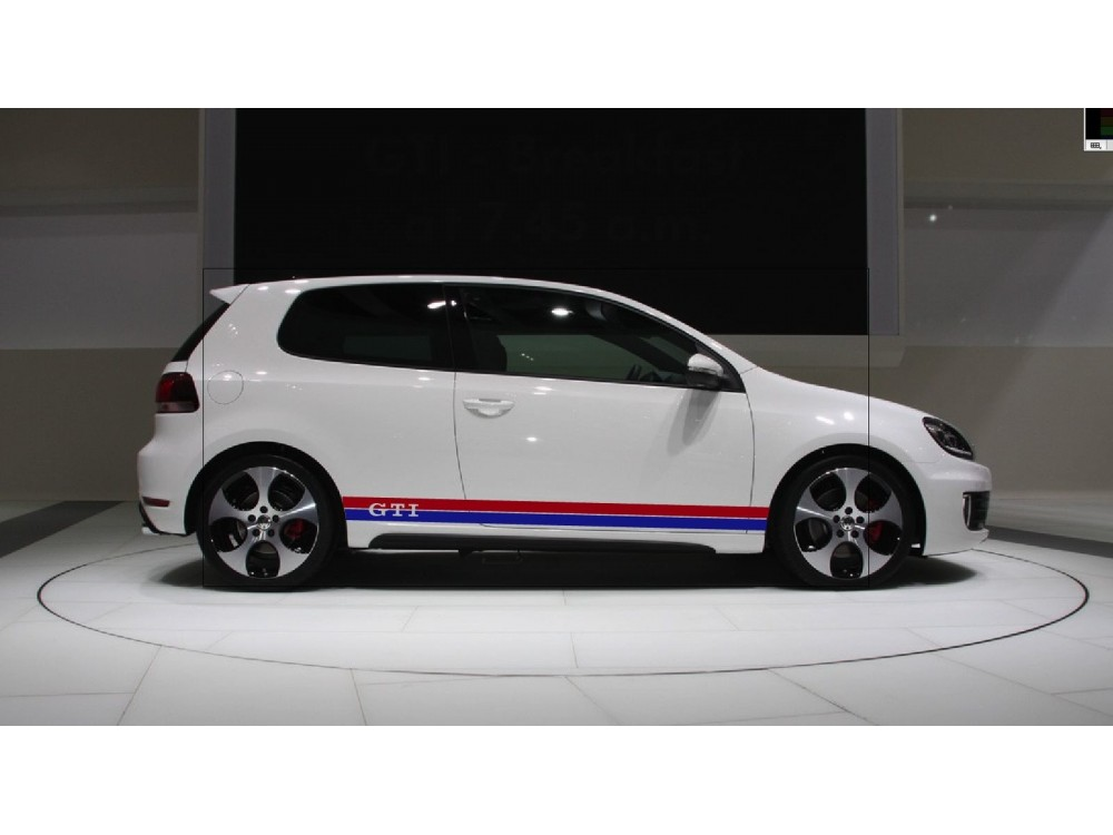 Decal to fit vw gti side decal set golf polo lupo