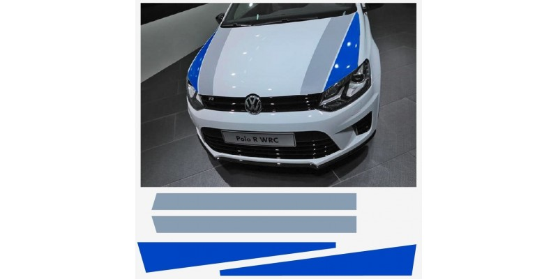 Decal to fit VW Polo R WRC Street windscreen decal set