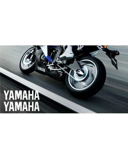 Aufkleber passend für Yamaha Seitenaufkleber Aufkleber 30cm 2Stk. Satz